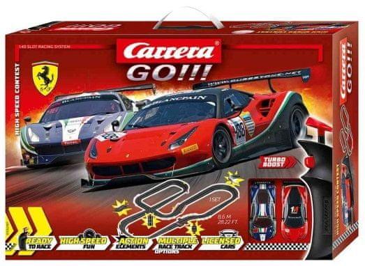 CARRERA Autodráha GO 62487 High Speed Contest