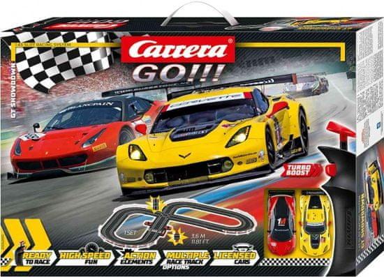 CARRERA Autodráha GO 62490 GT Showdown
