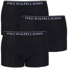 Ralph Lauren 3PACK pánske boxerky čierne (714513424002)