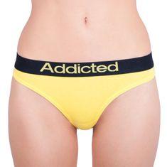 Addicted Dámská tanga žlutá