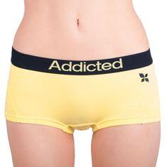 Addicted Dámské kalhotky žlutá