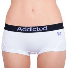 Addicted Dámske nohavičky biela fialová