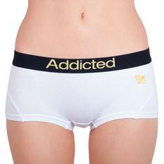 Addicted Dámske nohavičky biela žltá