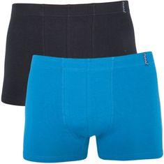 Molvy 2PACK pánské boxerky vícebarevné (KP-023-BEU)
