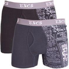 UNCS 2PACK pánske boxerky Angelo nadrozmer