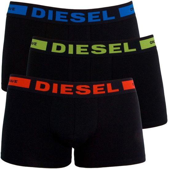 Diesel 3PACK pánske boxerky čierne (00CKY3-0BAOF-01) - veľkosť XL
