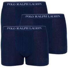 Ralph Lauren 3PACK pánske boxerky tmavo modré (714513424006)