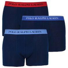 Ralph Lauren 3PACK pánske boxerky tmavo modré (714662050007)
