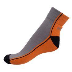 Infantia Ponožky Streetline oranžovo šedé