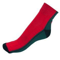 Infantia Ponožky Streetline červeno zelené