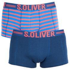 s.Oliver 2PACK pánské boxerky vícebarevné (2R.895.97.4228.14B1)