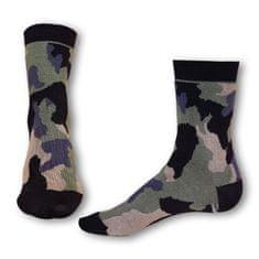 Styx Ponožky crazy khaki maskáč (H327)