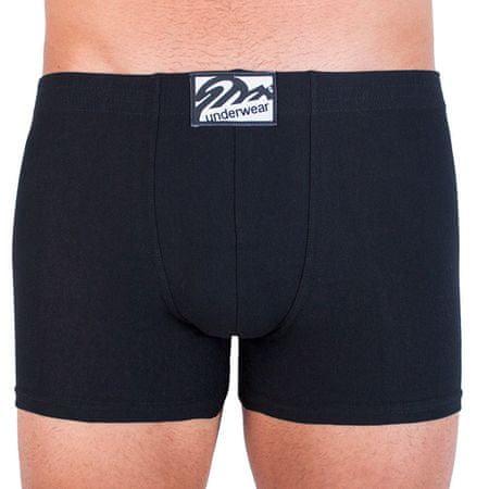 Styx Pánské boxerky long klasická guma černé (F960) - velikost L