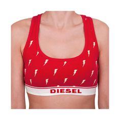 Diesel Dámská podprsenka červená (00SK86-0NAVY-42A)