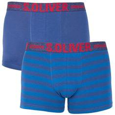 s.Oliver 2PACK pánské boxerky modré (2R.895.97.4266 10B6)