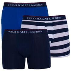 Ralph Lauren 3PACK pánske boxerky viacfarebné (714730410003)