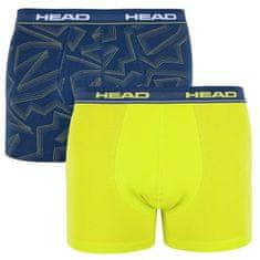Head 2PACK pánské boxerky vícebarevné (881400001 007)