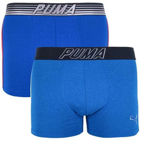 Puma 2PACK pánské boxerky vícebarevné (591005001 542) - velikost L