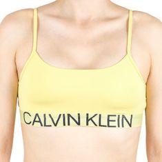 Calvin Klein Dámská podprsenka žlutá (QF5181E-HZY)