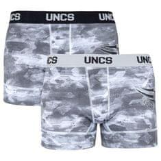 UNCS 2PACK pánské boxerky Wings