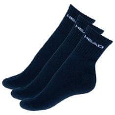 Head 3PACK ponožky tmavě modré (771026001 321)