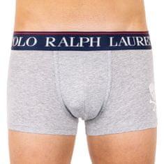 Ralph Lauren Pánské boxerky šedé (714753009001)