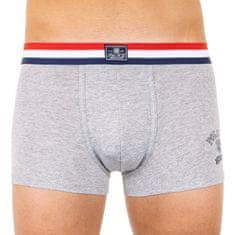 Ralph Lauren Pánské boxerky šedé (714755729003)