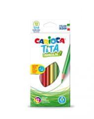 Carioca barvice Tita, 1/12, tanke, trikotne