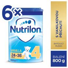 Nutrilon 4 Vanilla - batolecí mléko 6x 800g