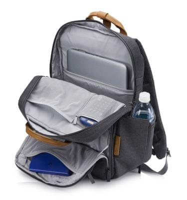batoh na notebook HP ENVY Urban 15 Backpack 3KJ72AA kapsy