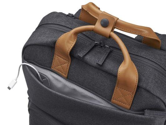 batoh na notebook HP ENVY Urban 15 Backpack 3KJ72AA prodyšné ramenní popruhy