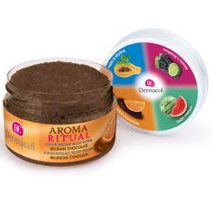 Dermacol Harmonizálása cserje Aroma Ritual belga csokoládé (Harmonizing Body Scrub) 200 g