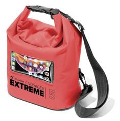 CellularLine Extreme vodotesna torbica, 5 l, rdeča