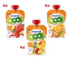 Sunárek Cool ovoce mix příchutí 12x120 g