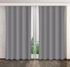 My Best Home Dekoračný záves MARTA 10 tmavosivá 160x250 cm