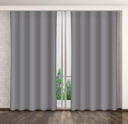 My Best Home Dekorační závěs MARTA 10 tmavě šedá 160x250 cm