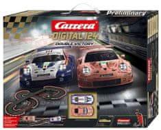 CARRERA Autós versenypálya D124 23628 Double Victory