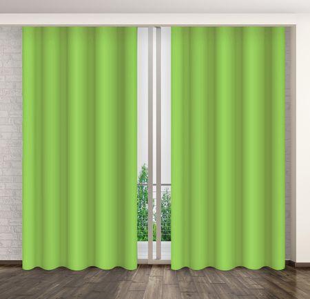 My Best Home Dekorační závěs MARTA 09 zelená 160x250 cm