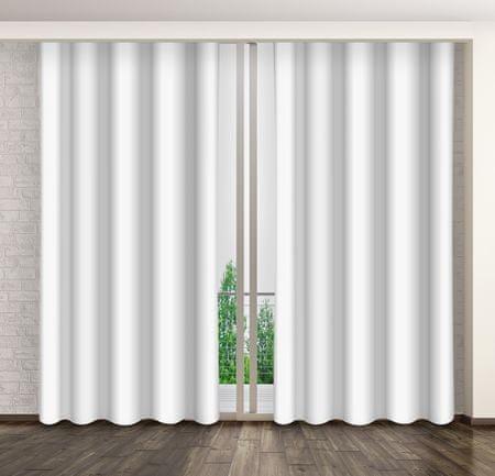 My Best Home zasłona dekoracyjna MARTA 02 biała, 160 x 250 cm