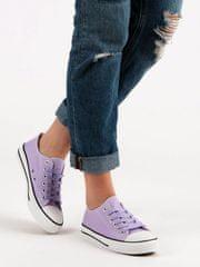 Stylomat Klasické fialové tenisky