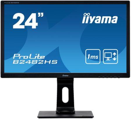 "iiyama ProLite B2482HS-B1 monitor, 61 cm (24"")"