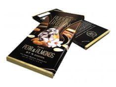 Rudolf Braun Belgická hořká čokoláda s hruškou a mandlemi 57% kakaa 100g