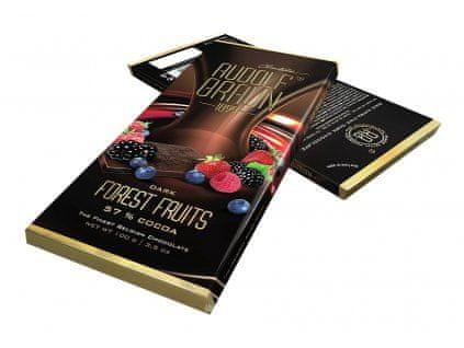 Rudolf Braun Belgická hořká čokoláda s lesním ovocem 57% kakaa 100g