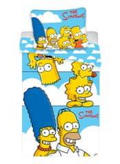 Jerry Fabrics The Simpsons family posteljnina, oblaki