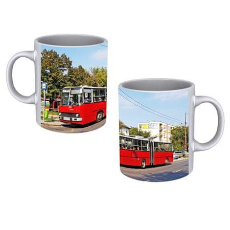 Dopravní spony Hrnek - trolejbus Ikarus 280T v Budapešti
