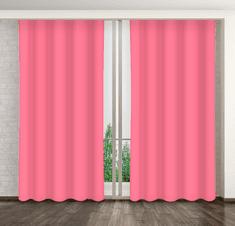 My Best Home Dekorační závěs MARTA 19 tmavě růžová 160x250 cm