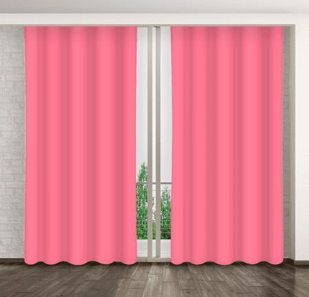 My Best Home Dekorációs függöny MARTA 19 sötét rózsaszín 160x250 cm