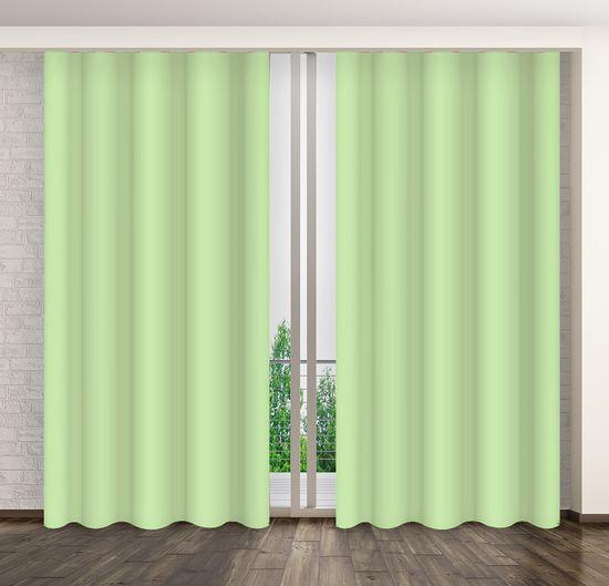 My Best Home Dekorační závěs MARTA 14 světle zelená 160x250 cm