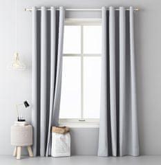 My Best Home Dekorační závěs EASY světle šedá 140x250 cm