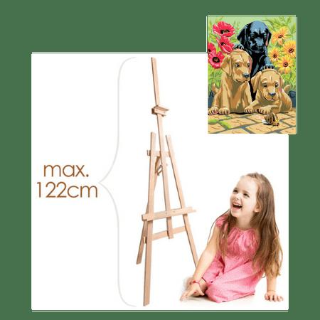 Dětský Malířský Stojan s dárkem